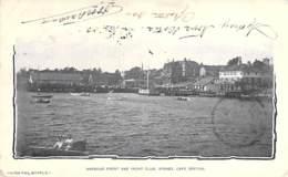 CANADA ( Nouvelle Ecosse / Nova Scotia ) CAPE BRETON - SYDNEY : Harbour Fron And Yacht Club - CPA 1903 - North America - Cape Breton