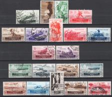 Italia Regno 1934 Sass.366/76+A74/81 O/Used VF/F - Usati