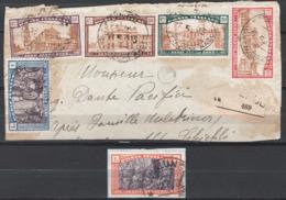Italia Regno 1924 Sass.169/74 O/Used VF/F - Afgestempeld