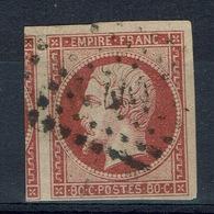 France, 80c., Empire, Napoleon III, 1854 , VFU - 1853-1860 Napoleon III