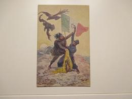 Illustratore C.CHIOSTRI Alba Di Vittoria Bersaglieri - Guerra 1914-18
