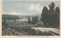 "1931 Duck-Lakes Baysville Andersons Series ""BAYSVILLE Split Ring Postmark""  Used VF Condition - Muskoka"