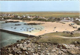 CP Cleder Kerfissihen Vue Générale Aérienne De La Plage 29 Finistère - Cléder