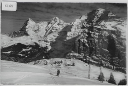 Mürren - Skilift Maulerhubel, Eiger, Mönch, Jungfrau - BE Berne