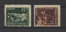ESPAGNE.  YT  N° 632/633  Neuf *   1938 - 1931-Aujourd'hui: II. République - ....Juan Carlos I
