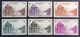 1941 Pile House, Dahomey, France, Republique Française, *,**, Or Used - Dahomey (1899-1944)
