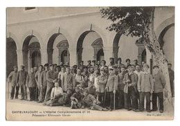 MILITARIA - Hôpital Complémentaire N° 25 à Castelnaudary, Prisonniers Allemands Blessés - Militaria