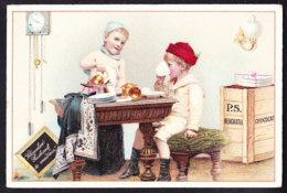 CHROMO Chocolat SUCHARD   +/- 1895  Serie 43   Scènes De Genre       Trade Card - Suchard