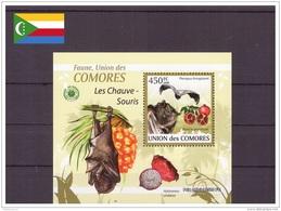Comores 2009 - MNH ** - Chauves-souris - Bloc (com155) - Comores (1975-...)