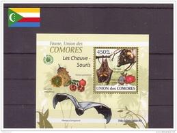 Comores 2009 - MNH ** - Chauves-souris - Bloc (com083) - Comores (1975-...)