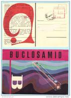 RUMÄNIEN ROMANIA AFS Freistempel Meter Cover 0.20 - 16.07.71 Postcard Werbung Medizin - BUCLOSAMID  (028577) - 1948-.... Republics