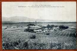 CPA  LA MARTINIQUE Vue D'ensemble D'une Usine Sucrière     1917  Très Bon état - Martinique
