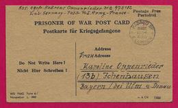 Correspondance D'un Prisonnier De Guerre Allemand Détenu Par L'Armée Américaine - 1939-45