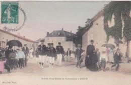 MEURTHE ET MOSELLE -FAULX -ARRIVEE D'UNE SOCIETE DE GYMNASTIQUE A FAULX (lot Pat 93) - France