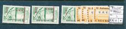 ECUATOR UPU 1949 YVERT 518/520 +A212/215 MNH - Ecuador