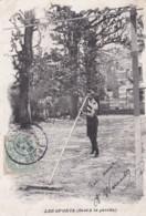 Cpa 1905 6  Les Sports 6  Saut à La Perche (lot Pat 93) - Atletismo