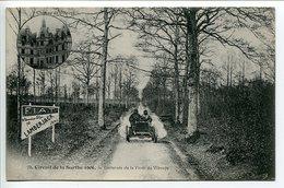 CPA * CIRCUIT De La SARTHE 1906 Traversée De La Forêt De Vibraye ( Course Automobile ) - Motorsport
