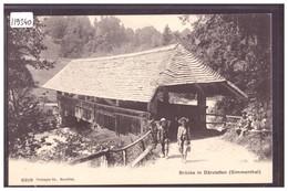 BRÜCKE IN DÄRSTETTEN - TB - BE Berne