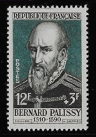 N° 1109 CELEBRITES DU XIIIe AU XIXe SIECLES BERNARD PALISSY NEUF ** TTB COTE 3,20 € - France