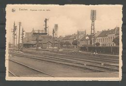 Oude Postkaart .  ESSCHEN (Essen ). Algemeen Zicht Der Statie - Essen