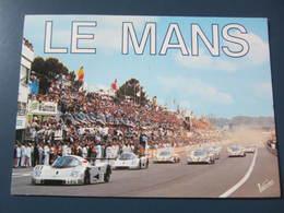 Carte Postale Course Automobile Le Mans - Cartes Postales