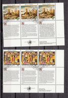 NATIONS  UNIES  NEW-YORK    1993     N°   635 à 640   OBLITERES   CATALOGUE YVERT&TELLIER - New-York - Siège De L'ONU