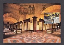 6.- SPAIN ESPAGNE 2018 MAXIMUM CARD General Archive Of The Indies. High Galleries. Seville - Tarjetas Máxima