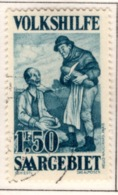 Ex Colonie Française  * Sarre *   Saargebiet  *  Poste  128   Obl - Oblitérés