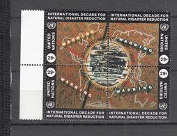 NATIONS  UNIES  NEW-YORK    1994     N°   659 à 662   OBLITERES   CATALOGUE YVERT&TELLIER - New-York - Siège De L'ONU