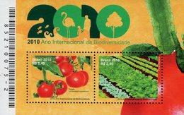 Brazil - 2010 - International Year Of Biodiversity - Mint Souvenir Sheet - Brazilië