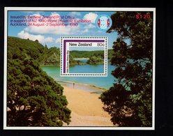 900465244 1986 SCOTT 853A POSTFRIS MINT NEVER HINGED EINWANDFREI (XX) WAINUI BAY - Nouvelle-Zélande
