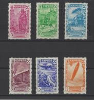 ESPAGNE.  YT Bienfaisance  N° 53/58   Neuf *   1938 - Wohlfahrtsmarken