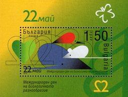 Bulgaria - 2010 - International Year Of Biodiversity - Mint Souvenir Sheet - Neufs