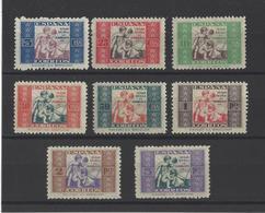ESPAGNE.  YT Bienfaisance  N° 7/14  Neuf *   1934 - Wohlfahrtsmarken