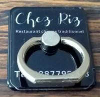 Anneau D'Accrochage à Coller Chez Riz Restaurant Chinois Traditionnel - Objets Publicitaires