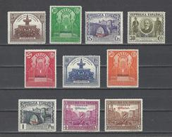 ESPAGNE.  YT  Service  N° 20/29  Neuf *   1931 - Service