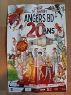 Affiche JUSZEZAK Erik Festival BD Angers 2019 (Dantes Empire USA...) - Manifesti & Offsets
