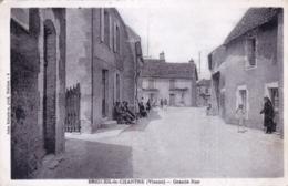 86 - Vienne - BRIGUEIL  Le CHANTRE - Grande Rue - Francia