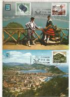 MAXIMA SAN SEBASTIAN CENTENARIOS - 1961-70 Storia Postale