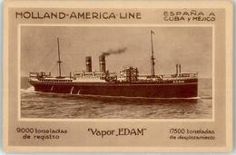 52941681 - Schiff Holland-America Line Vapor Edam - Paquebots