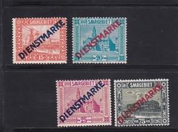 Saargebiet, Dienst Nr.12/15** ( T 13122) - 1920-35 Saargebiet – Abstimmungsgebiet