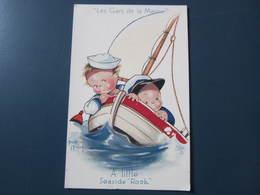 Carte Postale Illustrateur Béatrice Mallet Les Gars De La Marine - Mallet, B.