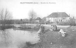 Bletterans Réédition Moulin Du Rondeau Lavandières C'était Mieux Avant ? - Francia