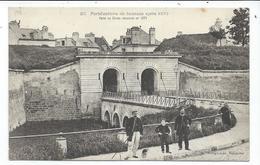 Soissons Fortifications Aprés 1870 , Porte De Reims - Soissons