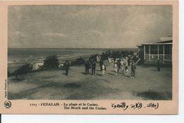 Fedalah-La Plage Et Le Casino - Marocco