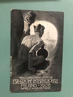 MILANO  INAUGURAZIONE DEL SEMPIONE ESPOSIZIONE INTERNAZIONALE 1906  ILLUSTRATA DA METLICOVIZ - Milano (Milan)
