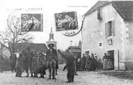 Vincent Réédition Montreur D'ours Auberge Petitjean Canton Chaumergy - Francia