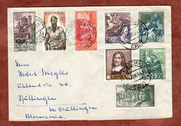 Brief, Gebet Am Oelberg U.a., Algeciras Nach Pfullingen 1963 (88569) - 1931-Heute: 2. Rep. - ... Juan Carlos I