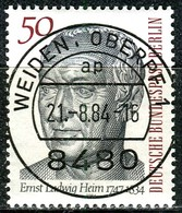 Berlin - Mi 723 - Zentrisch OO Gestempelt (D) - 50Pf  Dr. Ernst Ludwig Heim - Berlin (West)