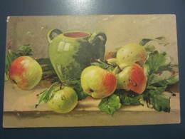 Carte Postale Composition De Fruits Pommes - Botanik